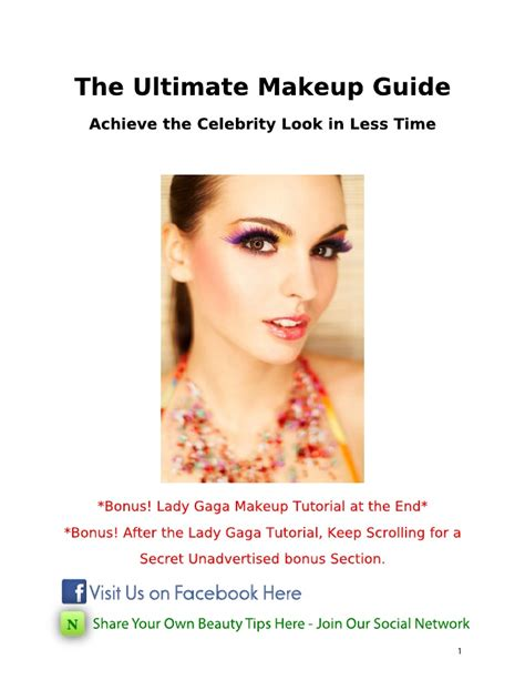 makeup the ultimate guide the ultimate makeup tutorial guide