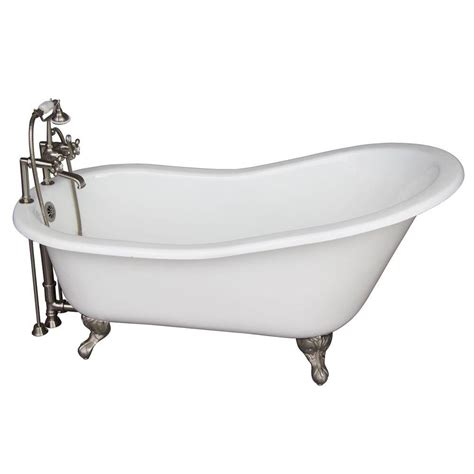 slipper tub barclay products 5 6 ft cast iron and claw