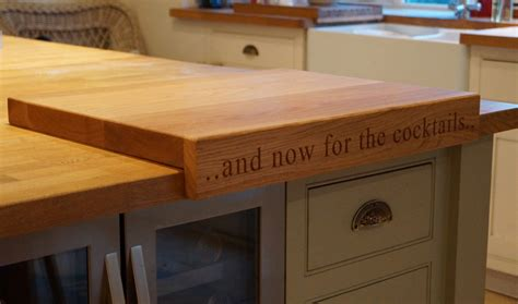 How To Install Butcher Block Countertops wooden cutting board with lip makemesomethingspecial