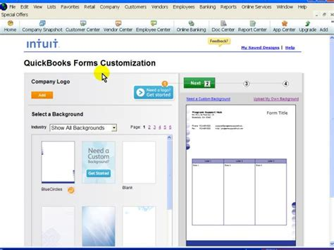 custom quickbooks invoice templates quickbooks custom forms gt quickbooks templates