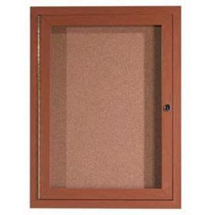 Aarco Odcco4836r 1 Door Outdoor Enclosed Bulletin Board