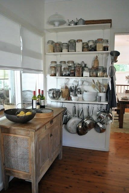 Pots Food Pantry by 1000 Ideas About Open Shelf Kitchen On Open