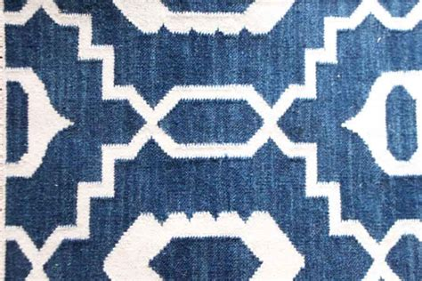 Large Blue Rugs by Handwoven Wool Rug Large Blue Mughal Kasakosa Home Decor