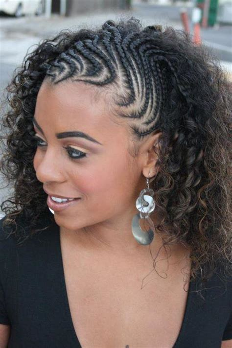 hairstyles for going out on the town copycat style cornrows and twist out on natural hair