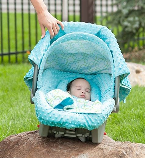 baby car seat sets the whole caboodle carseat canopy baby car seat cover 5 pc