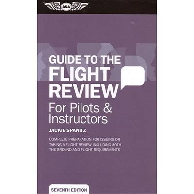 the pilot s manual to uas flight learn how to fly your uav suas at legally safely and effectively books guide to the biennial flight review from