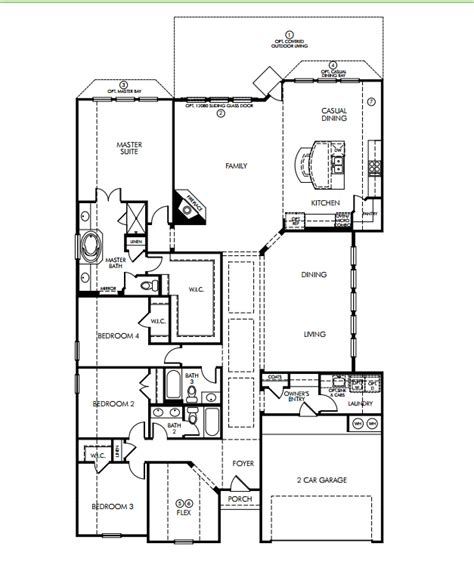 meritage home floor plans meritage homes floor plans best free home design