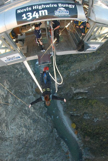swing neuseeland bungy jumping at nevis queenstown nz buckets