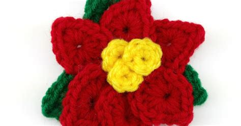 pattern crochet poinsettia fiber flux free crochet pattern crochet holiday