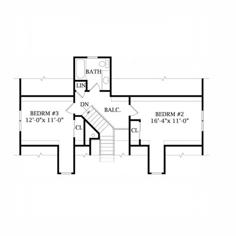 Lakeview House Plans by Lakeview 2804 3 Bedrooms And 2 Baths The House Designers