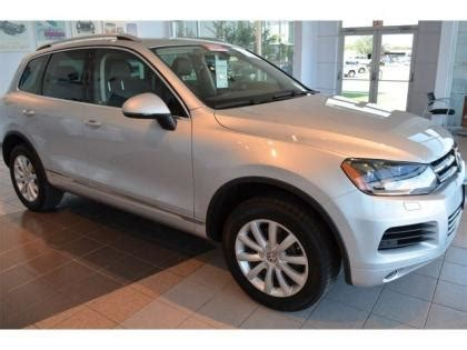 tire pressure monitoring 2012 volkswagen touareg on board diagnostic system export used 2012 vw touareg lux silver on black