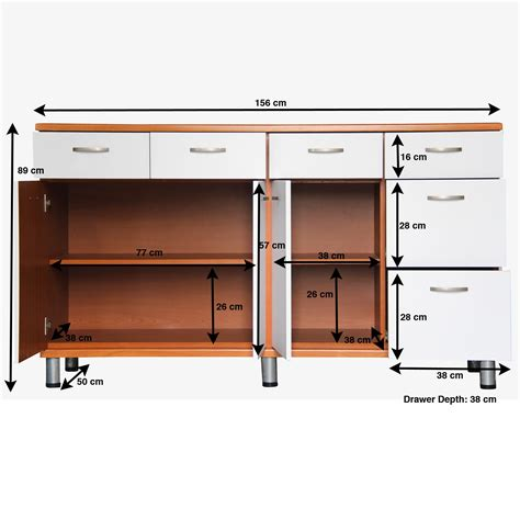 size of kitchen cabinets kitchen cabinet drawer dimensions standard