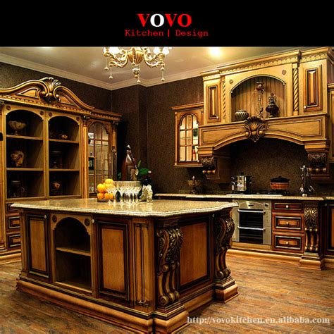 american style luxury kitchen cabinets solid wood  matte