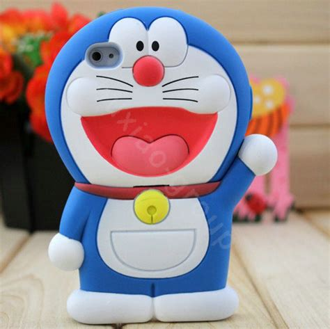 Casing Silicon Hardcase Doraemon 3d Oppo Muse buy wholesale doraemon 3d silicone cases skin covers for iphone 4g 4s blue from