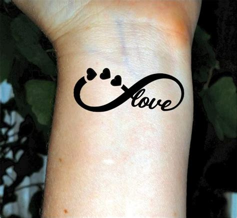 tattoos on ur wrist infinity temporary tattoos