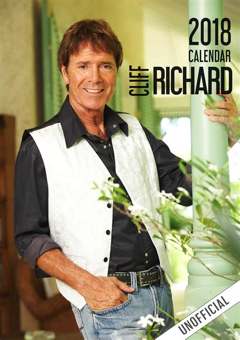 libro cliff richard official 2018 cliff richard calendar 2018 unofficial ebay