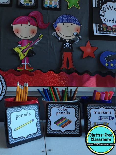 rock and roll theme decorations rock and roll themed classroom ideas printable