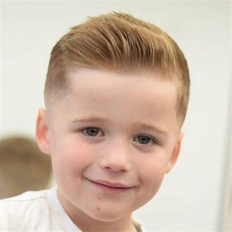 boys swept across fringe hairstyles 25 cute toddler boy haircuts