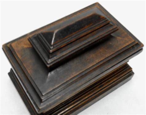 Dresser Box by Vintage Walnut Dresser Box For Sale At 1stdibs