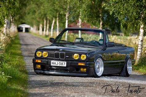 bmw  convertible bbs rs white bmw