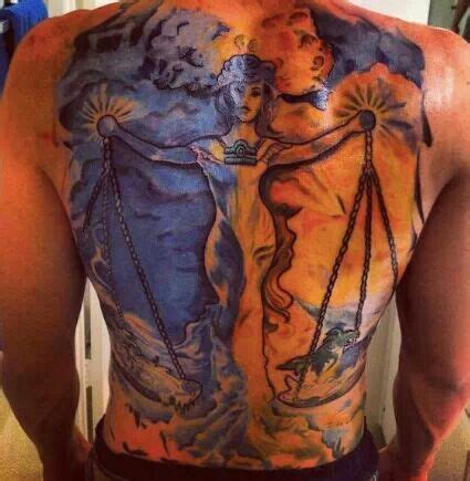 libra tattoo scales of justice tattoos pinterest