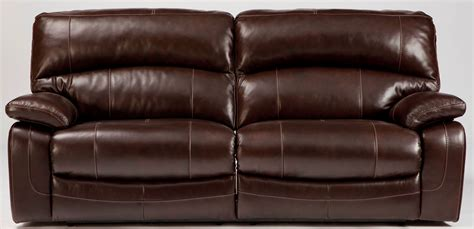 Damacio Dark Brown 2 Seat Power Reclining Sofa From Ashley 2 Seat Reclining Sofa