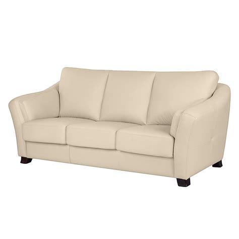 sofa günstig kaufen sofa toucy 3 sitzer echtleder beige nuovoform sofas