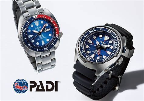 seiko dive padi and seiko to release padi special edition diver s watches