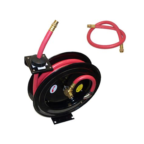 retractable air hose reel  psi truck wall