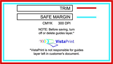 Vista Print Templates vistaprint template business card images