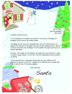 Santa On The Shelf Letter by 1000 Images About Santa Letters On Free Santa Letters Printable Letters And Letter