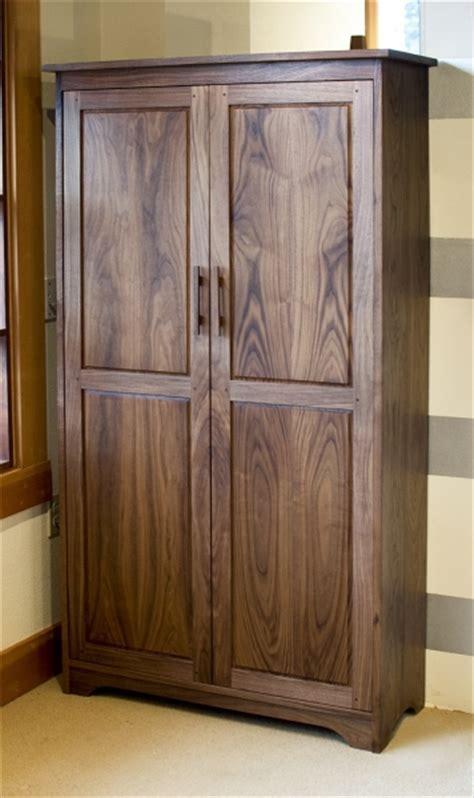 Fresh on the Floor : Eastern Walnut Bookcase with Doors