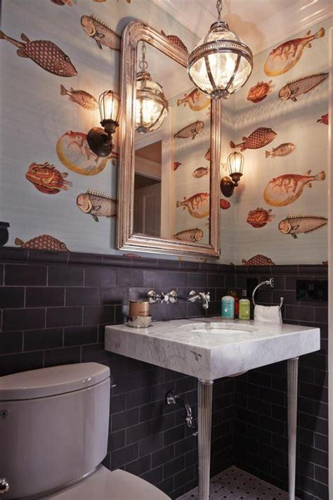 fish wallpaper bathroom gallery