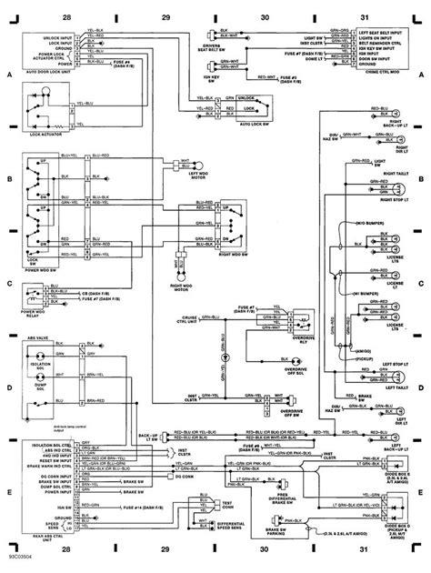automotive wiring diagram, Isuzu Wiring Diagram For Isuzu