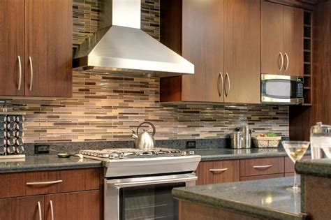 kitchen backsplash ideas with cabinets