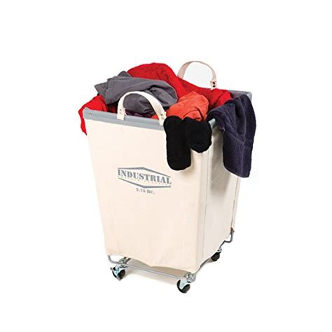 Seville Classics Commercial Heavy Duty Canvas Laundry Heavy Duty Laundry