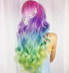 colorful hair styles 10 fashionable rainbow hair color ideas