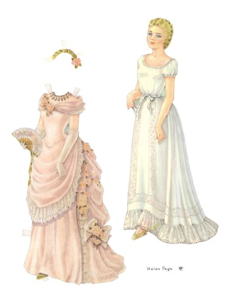 printable victorian paper dolls the bride paper doll marges8 s blog