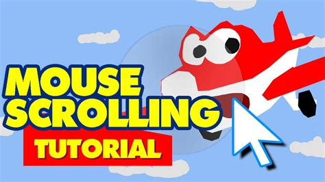 tutorial scrolling website mouse scrolling map and plane tutorial