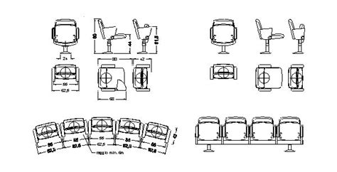 poltrona dentista dwg cadeiras ou poltronas p cinemas bloco autocad