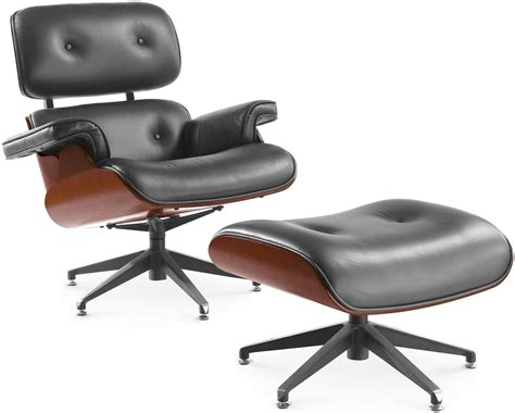 office chair with ottoman contemporary leather swivel armchair office furniture