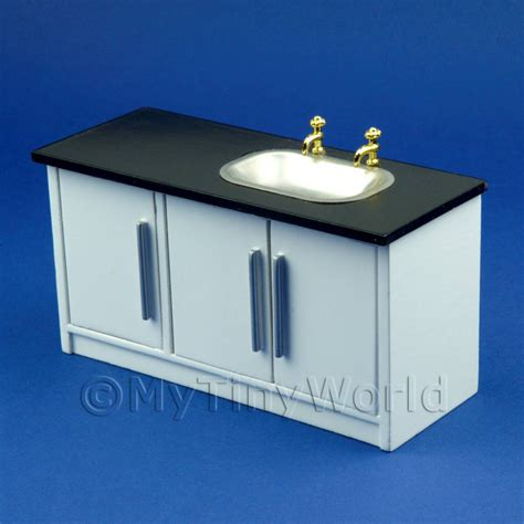 kitchen sink units dolls house miniature furniture value dolls house