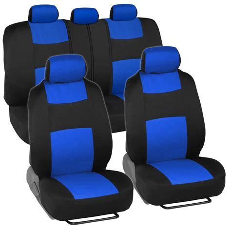 Honda Civic Seat Covers by Car Seat Covers For Honda Civic Sedan Coupe Blue Black
