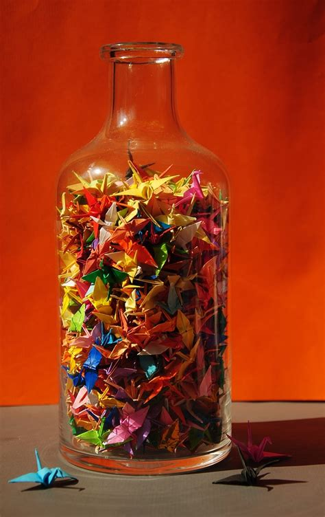 Jar Of Origami - cristina leau paper dreams