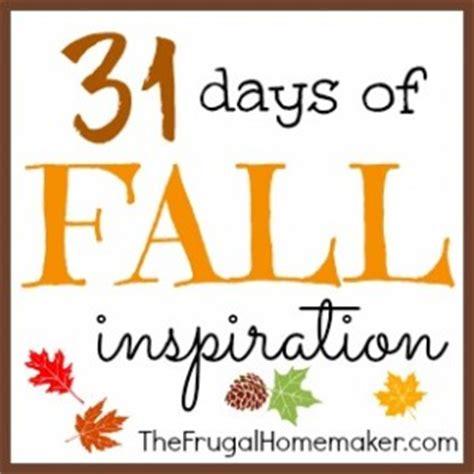 31 days of fall inspiration recap