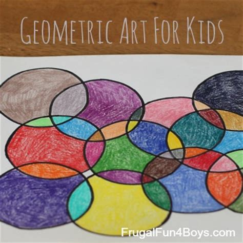printable math art projects geometric art project for kids with printable coloring