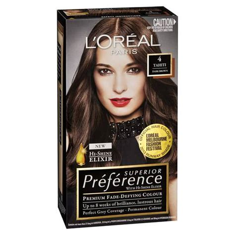 loreal preference hair color range l oreal preference 4 tahiti brown ratings mouths of