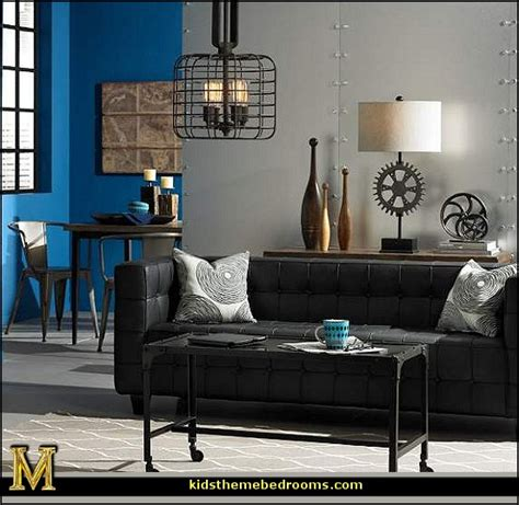 industrial chic living room decorating theme bedrooms maries manor industrial style decorating ideas industrial chic