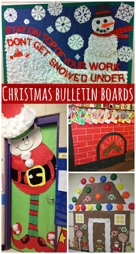 free classroom christams decoration ideas bulletin board hacks lesson plans