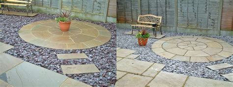 Patio Circles Buy by Circular Patios Abel Landscaping